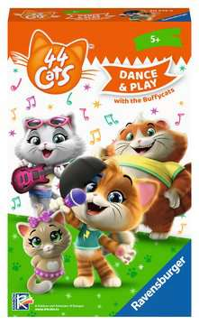 44 Cats: Dance & Play with the Buffycats Spellen;Dobbelsteenspellen - image 1 - Ravensburger