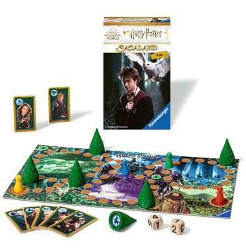 Harry Potter Sagaland Spellen;Pocketspellen - image 2 - Ravensburger