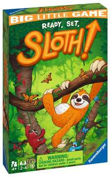 Ready Steady Sloth Travel Game Games;Educational Games - image 1 - Ravensburger