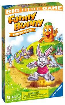 Funny Bunny Travel Game Games;Educational Games - image 1 - Ravensburger