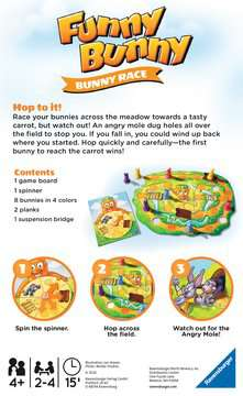 Funny Bunny Travel Game Games;Educational Games - image 2 - Ravensburger