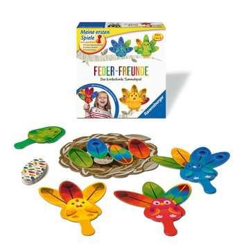 20587 Kinderspiele Feder-Freunde von Ravensburger 2
