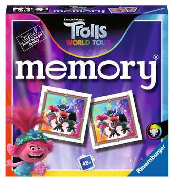 Trolls World Tour mini memory® Games;Children s Games - image 1 - Ravensburger
