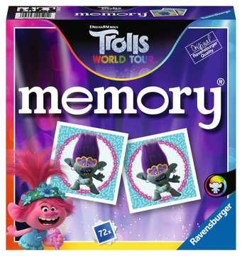Ravensburger - 20591 memory® Trolls 3 - Juego Memory, 72 tarjetas, Edad recomendada 4+ Juegos;Juegos educativos - imagen 1 - Ravensburger