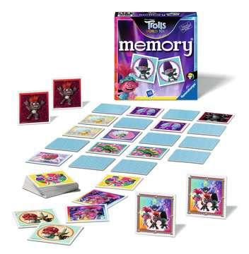 Ravensburger - 20591 memory® Trolls 3 - Juego Memory, 72 tarjetas, Edad recomendada 4+ Juegos;Juegos educativos - imagen 2 - Ravensburger