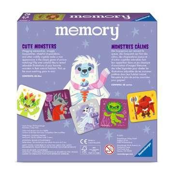 Cute Monsters memory® Games;Children's Games - image 2 - Ravensburger