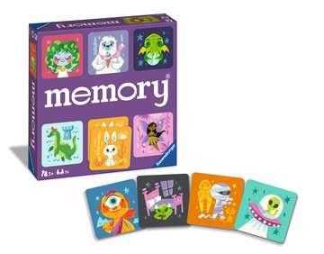 Cute Monsters memory® Games;Children's Games - image 5 - Ravensburger