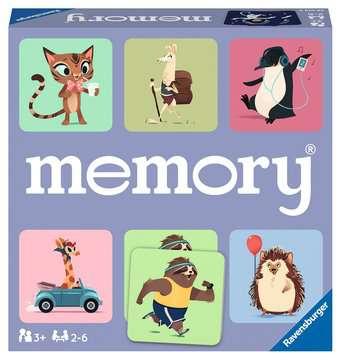 memory® Animali felici Giochi;Giochi educativi - immagine 1 - Ravensburger