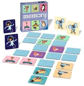 memory® Animali felici Giochi;Giochi educativi - immagine 2 - Ravensburger