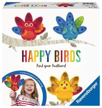 Happy Birds Spil;Børnespil - Billede 1 - Ravensburger