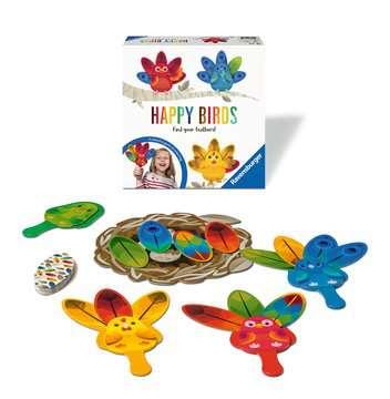 Happy Birds Spil;Børnespil - Billede 2 - Ravensburger