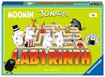 Moomin Junior Labyrinth Spil;Børnespil - Billede 1 - Ravensburger
