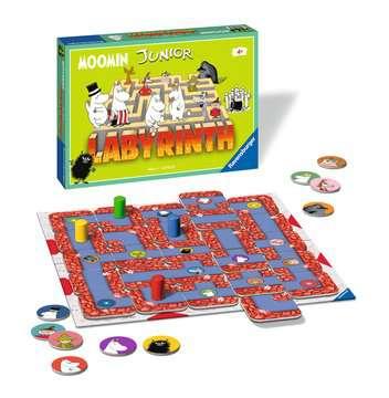 Moomin Junior Labyrinth Spil;Børnespil - Billede 2 - Ravensburger