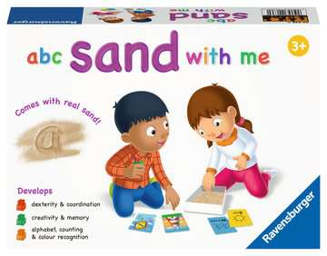 abc sand with me Games;Educational Games - image 1 - Ravensburger