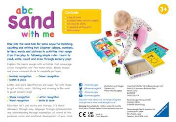 abc sand with me Games;Educational Games - image 2 - Ravensburger