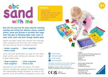 abc sand with me Games;Educational Games - image 4 - Ravensburger