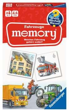 20647 Mitbringspiele Wieso? Weshalb? Warum? Fahrzeuge memory (R) von Ravensburger 1