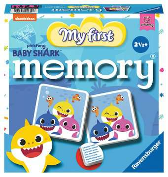 20650 Kinderspiele Baby Shark My first memory® von Ravensburger 1
