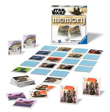 20671 Kinderspiele STAR WARS The Mandalorian memory® von Ravensburger 2