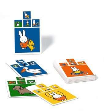 nijntje ontdekt de wereld kwartet Spellen;Kaartspellen - image 3 - Ravensburger