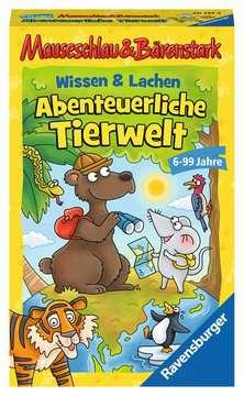 20737 Kinderspiele Mauseschlau & Bärenstark Wissen und Lachen - Abenteuerliche Tierwelt von Ravensburger 1