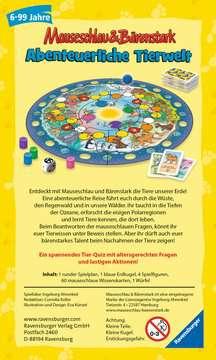 20737 Kinderspiele Mauseschlau & Bärenstark Wissen und Lachen - Abenteuerliche Tierwelt von Ravensburger 2