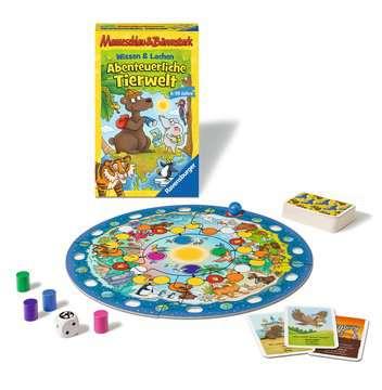 20737 Kinderspiele Mauseschlau & Bärenstark Wissen und Lachen - Abenteuerliche Tierwelt von Ravensburger 3