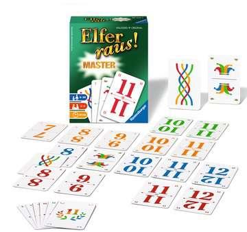 20756 Kartenspiele Elfer raus! Master von Ravensburger 2