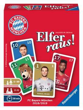 FC Bayern München Elfer raus! Spiele;Kartenspiele - Bild 1 - Ravensburger