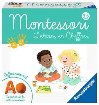 Montessori - Lettres et chiffres Jeux éducatifs;Premiers apprentissages - Image 1 - Ravensburger