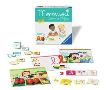 Montessori - Lettres et chiffres Jeux éducatifs;Premiers apprentissages - Image 3 - Ravensburger