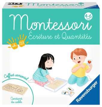 Montessori - Ecriture et quantités Jeux éducatifs;Premiers apprentissages - Image 1 - Ravensburger
