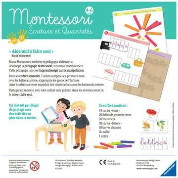 Montessori - Ecriture et quantités Jeux éducatifs;Premiers apprentissages - Image 2 - Ravensburger