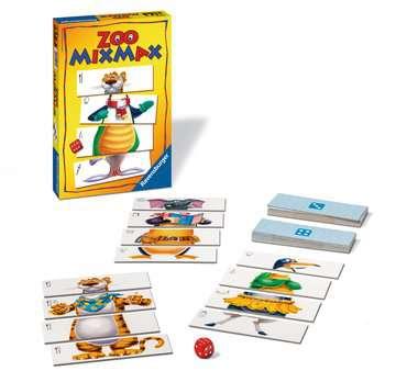 Zoo Mixmax Spil;Børnespil - Billede 2 - Ravensburger