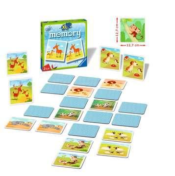 Mein erstes XL memory® Tiere Spiele;Kinderspiele - Bild 2 - Ravensburger