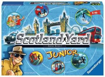 Scotland Yard Junior Gry;Gry dla dzieci - Zdjęcie 1 - Ravensburger