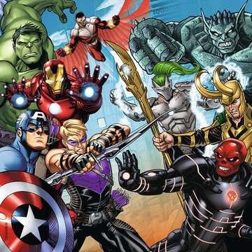Avengers 3 Puzzles + memory® Juegos;Juegos educativos - imagen 3 - Ravensburger