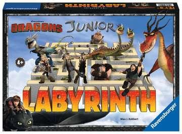 Dragons Junior Labyrinth Giochi;Giochi di società - immagine 1 - Ravensburger