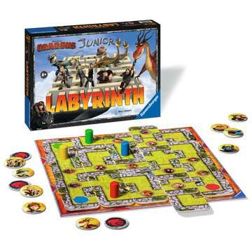 Dragons Junior Labyrinth Spiele;Kinderspiele - Bild 2 - Ravensburger