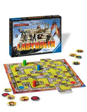 Dragons Junior Labyrinth Juegos;Juegos de familia - imagen 3 - Ravensburger