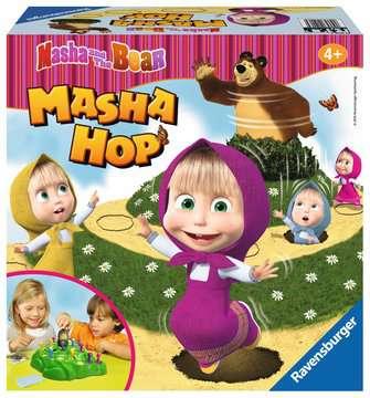 MASHA&BEAR  HOP Gry;Gry dla dzieci - Zdjęcie 1 - Ravensburger