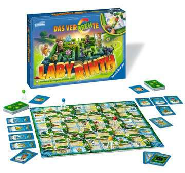 21213 Kinderspiele Das verdrehte Labyrinth von Ravensburger 2