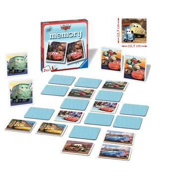 Disney/Pixar Cars XL memory® Spil;Børnespil - Billede 2 - Ravensburger