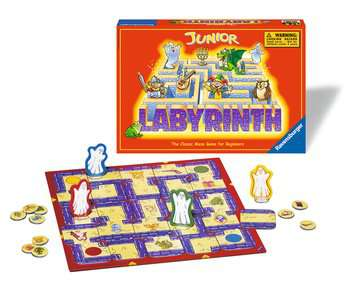 Junior Labyrinth Games;Children s Games - image 2 - Ravensburger