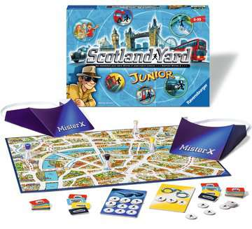 Scotland Yard Junior Games;Children s Games - image 2 - Ravensburger