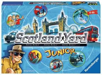 Junior Scotland Yard Spil;Børnespil - Billede 1 - Ravensburger