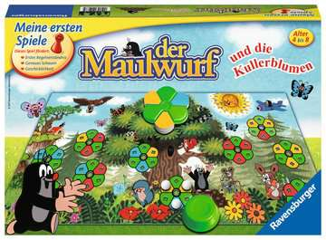 Der Maulwurf und die Kullerblumen Spiele;Kinderspiele - Bild 1 - Ravensburger