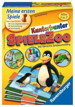21269 Kinderspiele Kunterbunter Spielezoo von Ravensburger 1