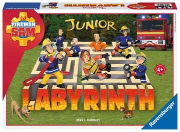 21282 Kinderspiele Fireman Sam Junior Labyrinth von Ravensburger 1
