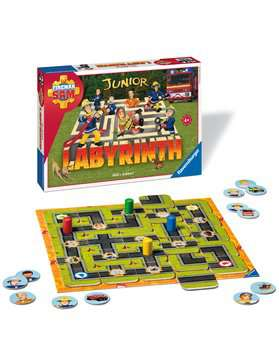 21282 Kinderspiele Fireman Sam Junior Labyrinth von Ravensburger 3